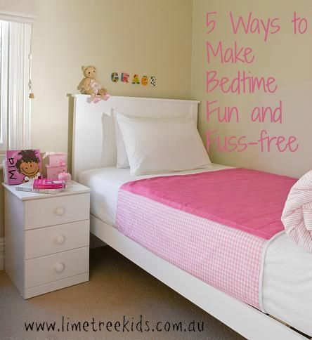 5 Ways to Make Bedtime Fun and Fuss-Free for Kids  #limetreekids #play #kids #fun #limetreemummablog