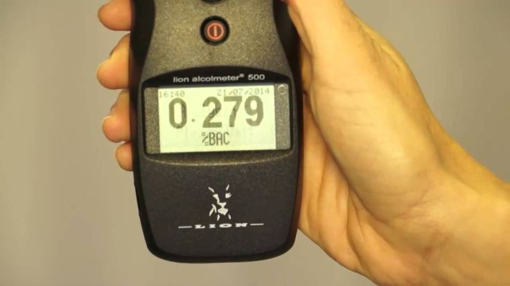How To Use The Lion Alcolmeter ® 500 - Demonstration