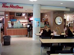 I think I've been to every Tims on campus (this is the one in TEL)
