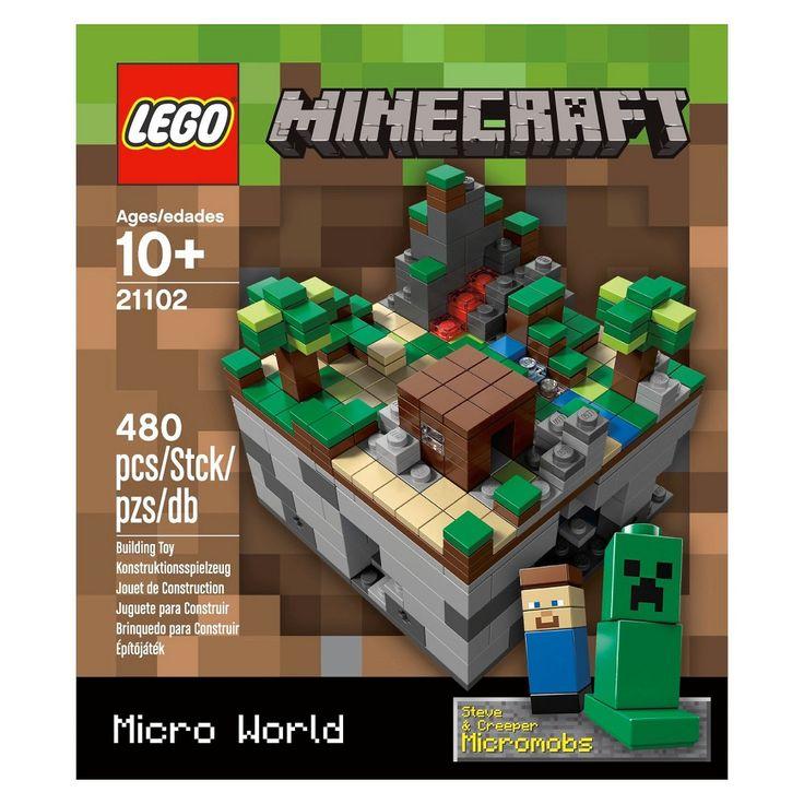 lego minecraft micro world instructions