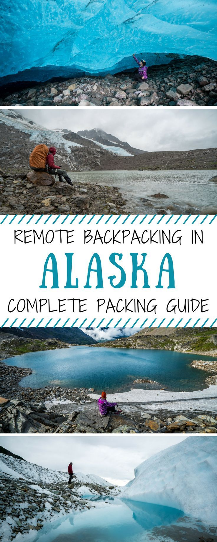 The ultimate guide to packing for an 8-day backpacking trip in the remote Alaskan wilderness. A complete packing list including clothing, gear, boots, cameras and tech and other essentials. Adventure trekking and hiking in Alaska.   Be My Travel Muse #Alaska #Hiking