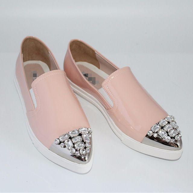 Конфетные слипоны Miu Miu.Магазин женской одежды и обуви, Копии класса люкс! Брендовая одежда и обувь из Китая, доступная цена, бесплатная доставка.