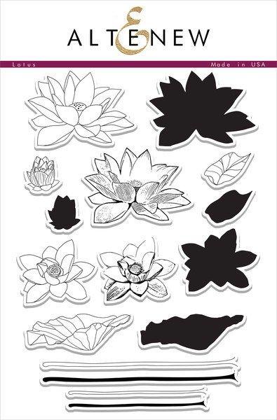Stamp Focus: Lotus - Altenew Blog