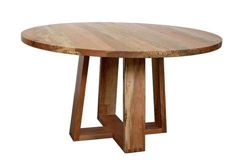 round wood dining table with leaves