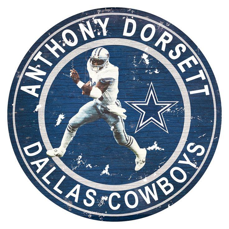 Dallas Cowboys Tony Dorsett Wall Decor, Multicolor
