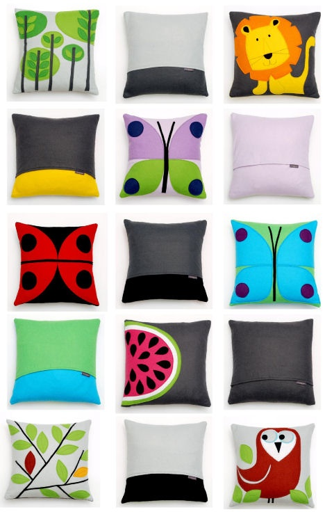 The first range of cushions from Nugget!