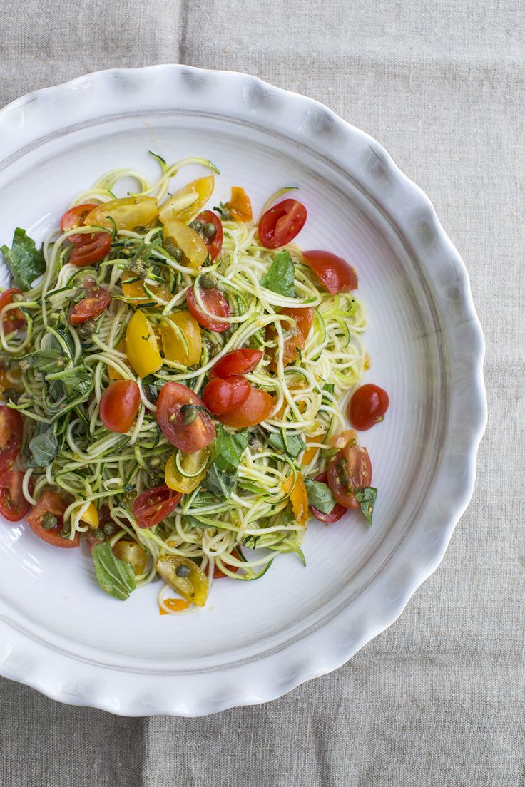 It's too hot to cook...decimate your neighbour's zucchini haul with this refreshing, flavourful recipe.