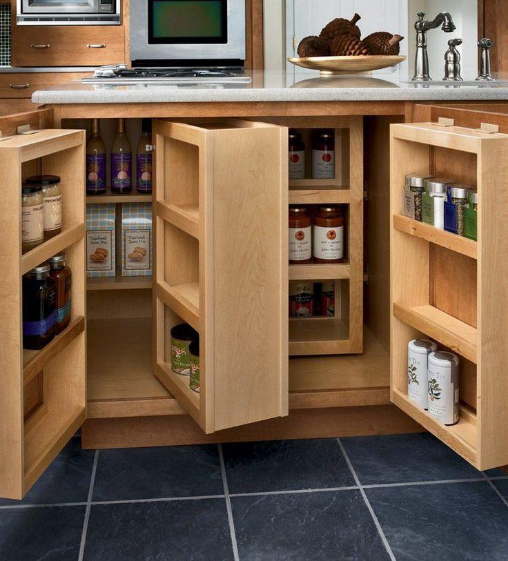 Kitchen Pantry Storage Solutions: Base Multi-Storage Pantry - KraftMaid