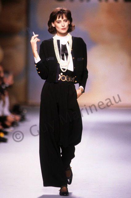 Ines de la fressange Chanel_ws_1988_photo_Guy_Marineau_107