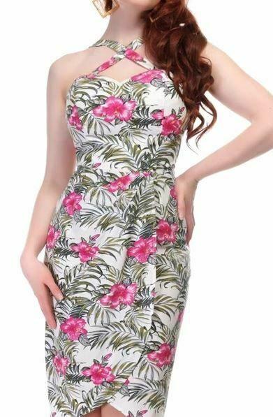 Collectif Sarong Dress UK size S #Collectif