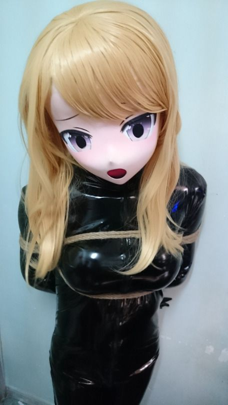 mask Latex doll