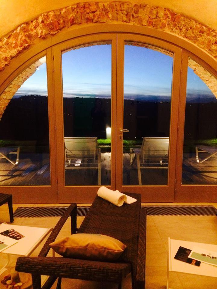 Serata in SPA a Villa Fontana con vista colline!