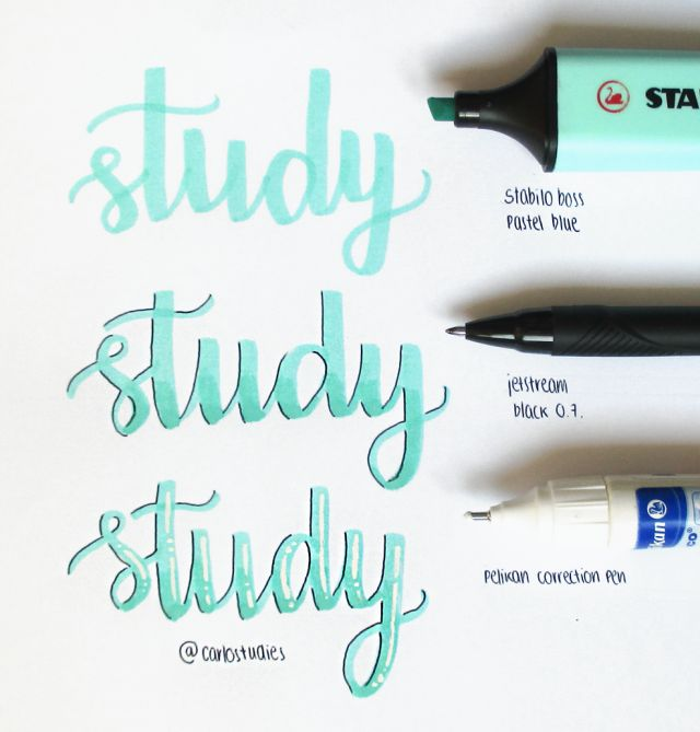 Creative yet simple way to create headers for bujo