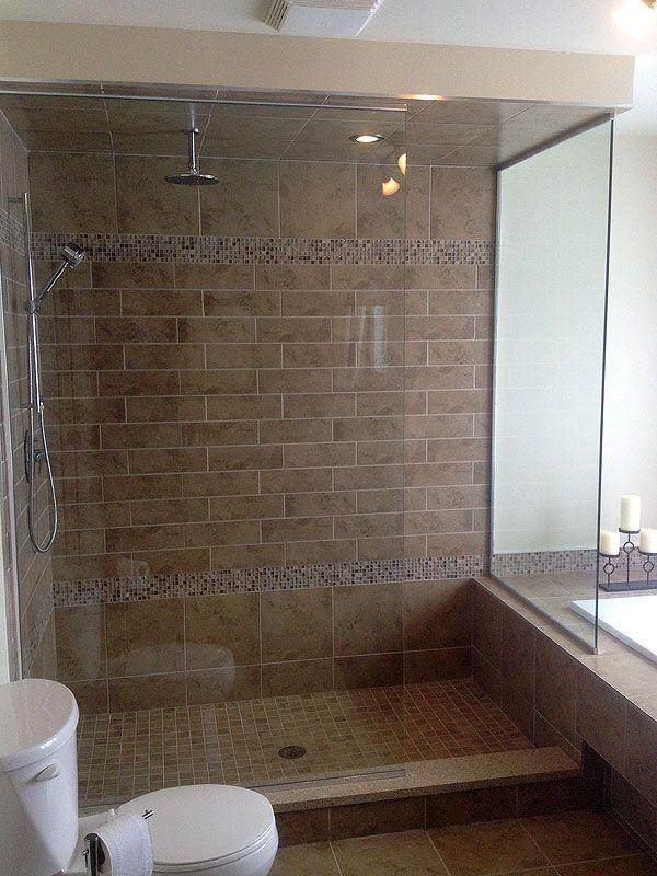 Les 25 meilleures id es de la cat gorie douches en verre - Porte en verre salle de bain ...