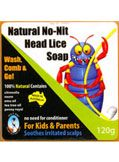 No Nits Soap | 100% Natural Treatment For Head Lice | Healthy Online