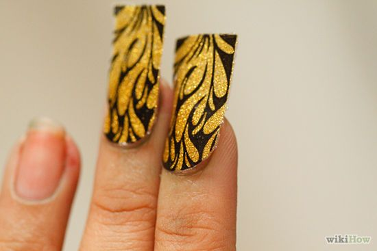 elegant  Decorative Apply Nail Decals