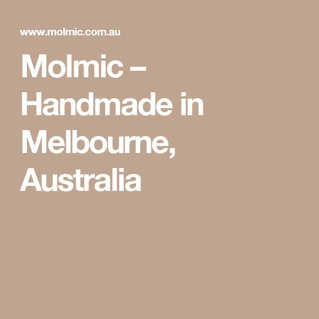 Molmic – Handmade in Melbourne, Australia