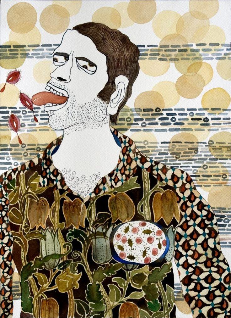 Artwork by contemporary Indian artist Dhruvi Acharya: http://thefloatingmagazine.com/people-dhruvi-acharya/ #art #contemporaryart #artist #india #dhruviacharya