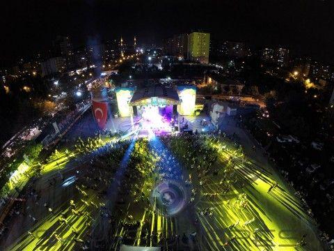 MFÖ Konseri havadan fotoğraf çekimi