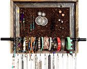 DIY Jewelry OrganizerJewelry Storage, Jewelry Display, Storage Organic, 9X12 Custom, Corks Boards, Diy Jewelry, Custom Jewelry, Jewelry Organic, Barns Wood