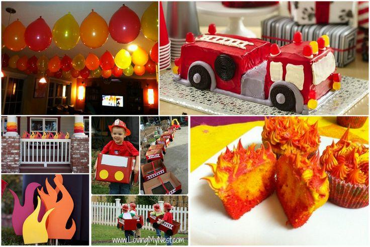 15 best images about anniversaire pompier on pinterest fireman cake fireman birthday parties. Black Bedroom Furniture Sets. Home Design Ideas