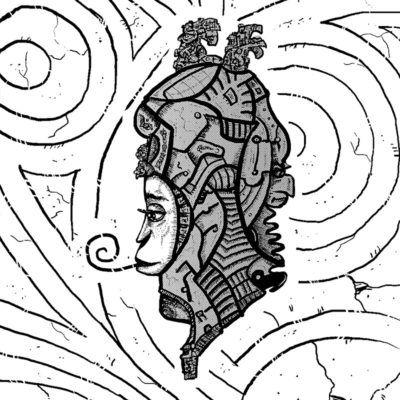 Psychedelic Alien Art