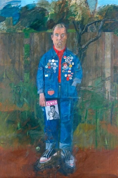 Peter Blake, 'Self-Portrait with Badges' 1961