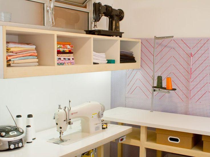 25+ Melhores Ideias De Decoração Da Sala De Costura No Pinterest