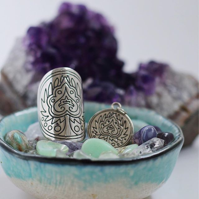 MANTRA: 'BREATHE IN THE LOVE' This mandala talisman is a physical reminder of your ability to change your reality instantly with just one breath. #TFEL #thefifthelementlife #mandala