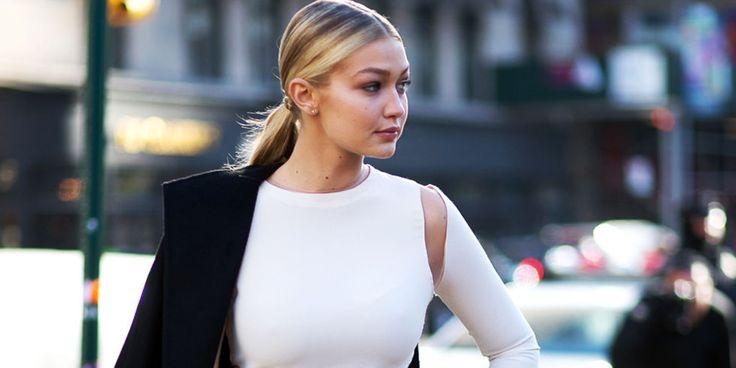 Shop Gigi Hadid Street Style Look - Shop Street Style NYFW Fall 2015
