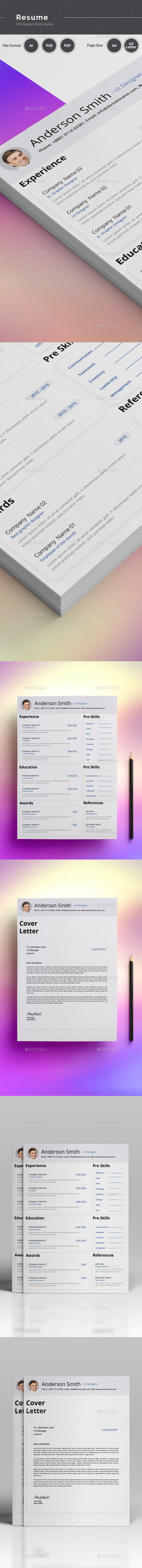Resume #resume indesign #resume infographic  • Download here → https://graphicriver.net/item/resume/20815318?ref=pxcr