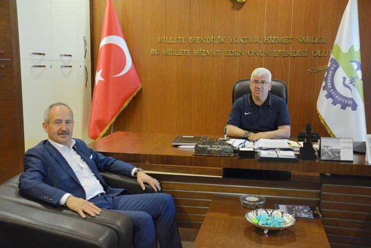 Yönetim Kurulu Başkanımız İbrahim Gönül´den Ergene Belediye Başkanı Rasim Yüksel´e Ziyaret
