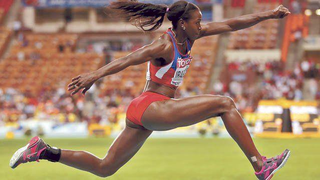 caterine ibarguen | La colombiana Caterine Ibargüen ganó su segunda medalla en un ...