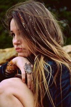 Ejemplos de peinados hippies fáciles de hacer 2017 | TUTORIAL+FOTOS