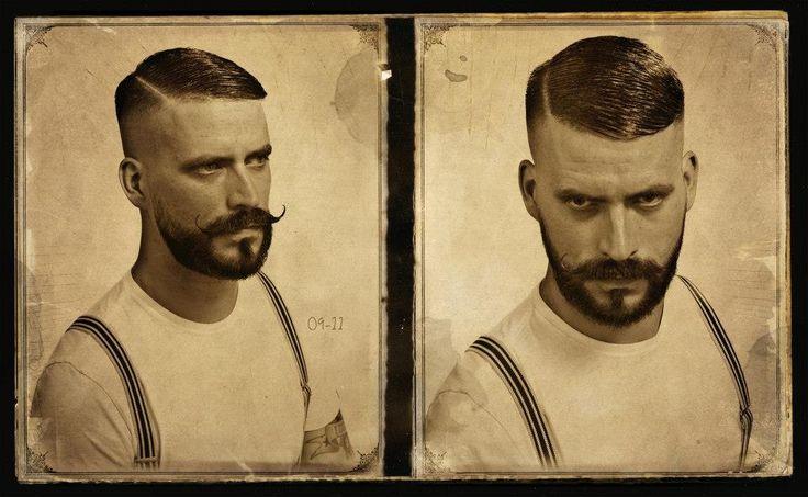 Com um estilo mauricinho anos 30, esse corte é a nova onda dos homens europeus.