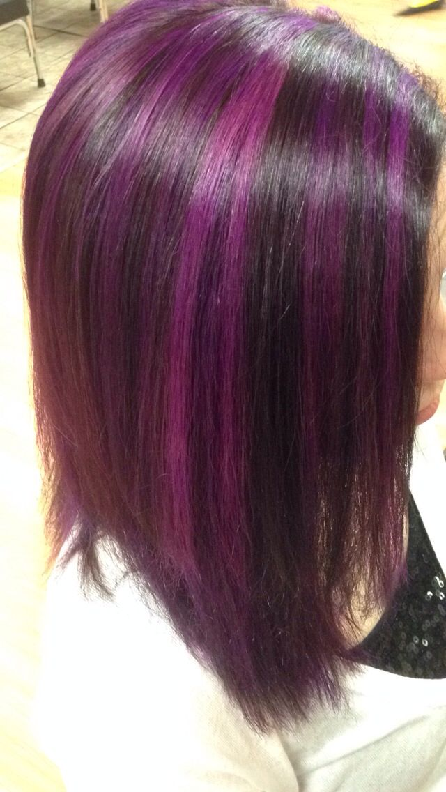 Purple Highlights!