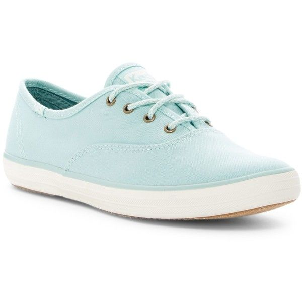 Keds Champion Canvas Sneaker ($22) ❤ liked on Polyvore featuring shoes, sneakers, eggshell b, lace up sneakers, lace up shoes, oxford sneakers, canvas shoes and ortholite shoes