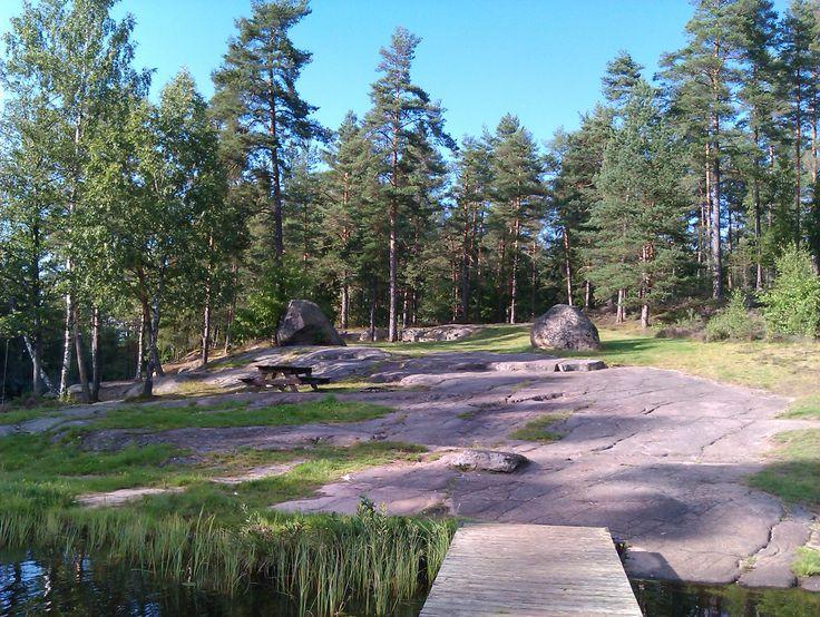 Badplats Gullringen.