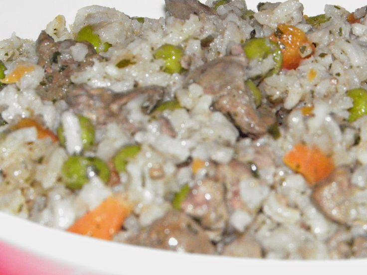 Karcsi főzdéje: Rizses zöldséges csirkemáj