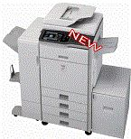 Multifunctional printer. Copy Fax Scan Print & e-mail