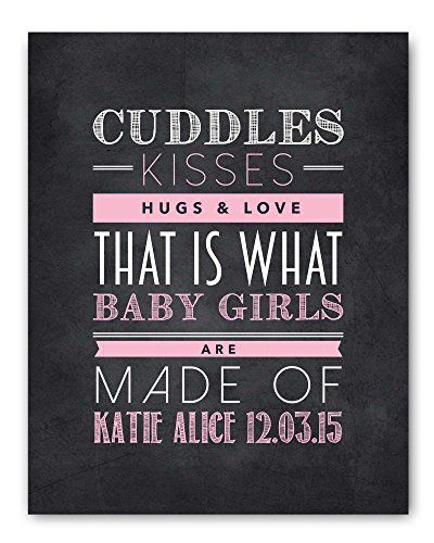 12 best cute chalkboards art images on pinterest new baby new baby gift baby girl gift christening gift personalized baby gift baby negle Choice Image