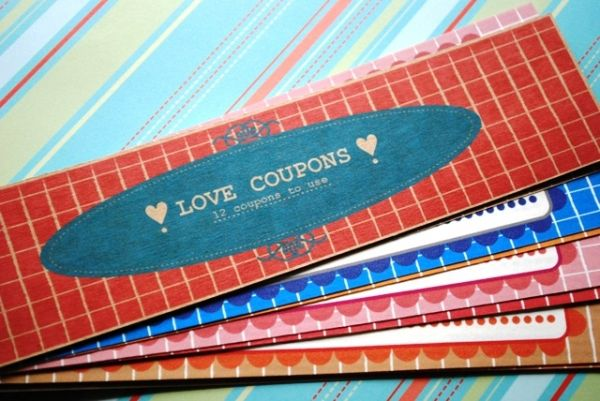 4. Love #Vouchers - 11 DIY Valentine's Day Gifts for Your Man ... → DIY #Yourself