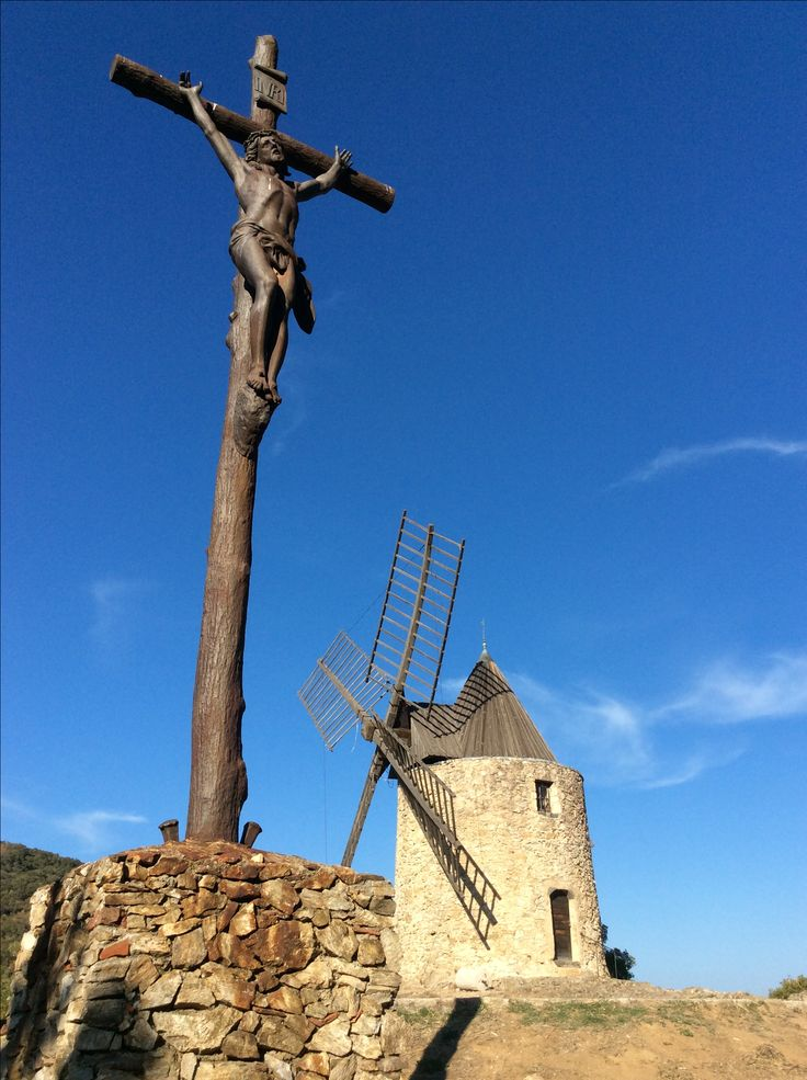 Christ au Moulin de Grimaud
