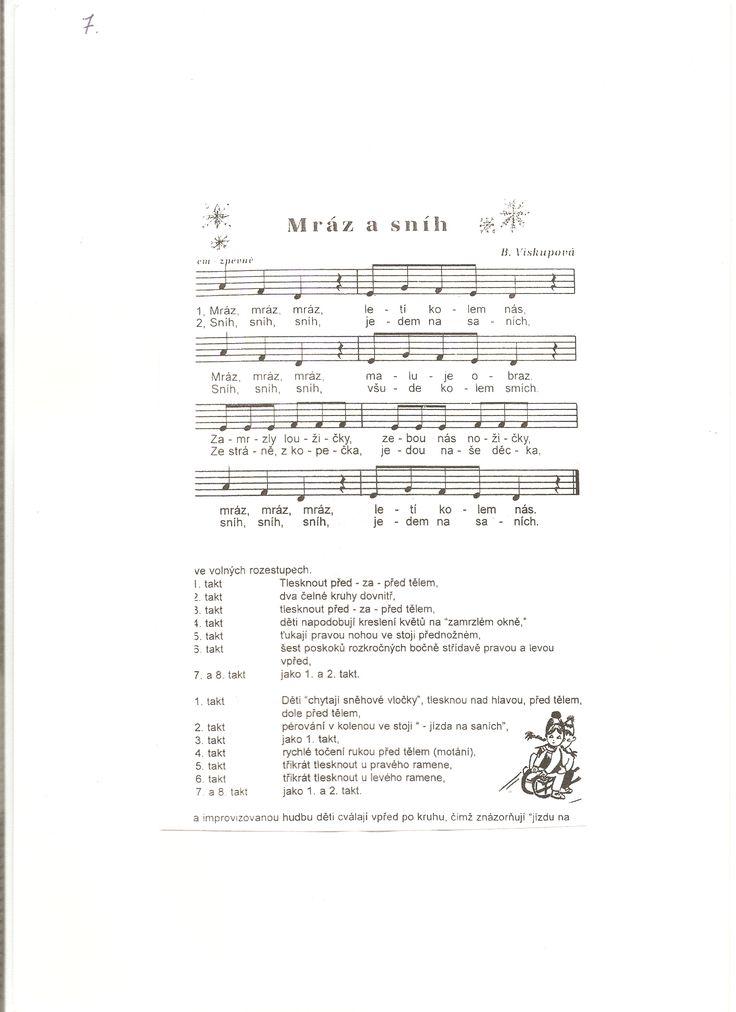 Písničky, hudební výchova | Předškoláci.cz - omalovánky, pracovní listy - strana 3
