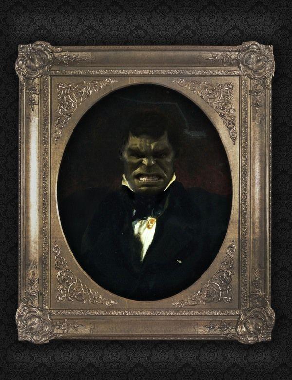 Hulk - Portrait, Like a Sir by Berk Senturk on bloodyloud.com