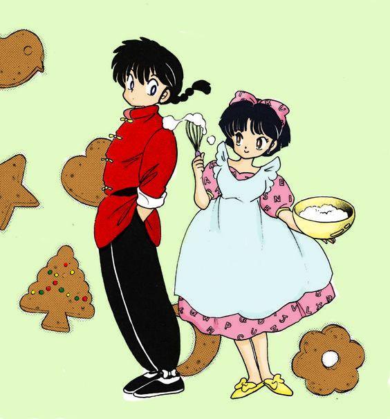 ranma 1/2 akane y ranma Manga Story, Manga Books, Inuyasha, Anime