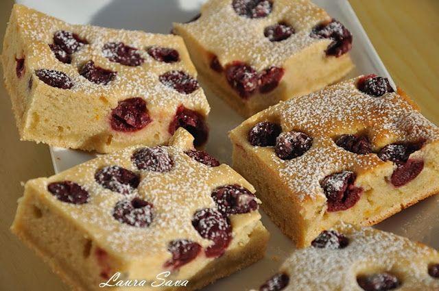 Prajitura cu visine pentru diabetici | Retete culinare cu Laura Sava