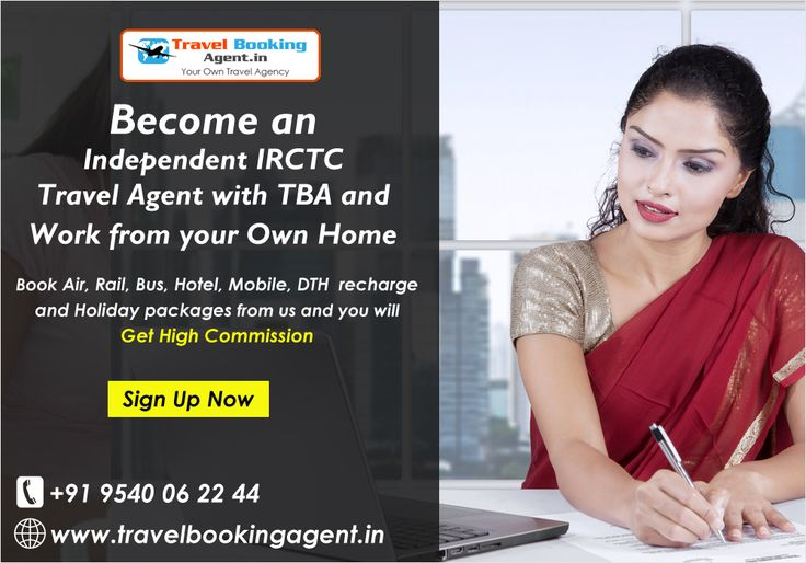 Want to become authorized IRCTC railway ticket booking agent. Tba offers you an opportunity to become a trusted travel booking agent to book train tickets, air ticket, bus ticket, holiday packages, mobile and dth recharge more.. @ http://www.travelbookingagent.in/