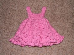 Free Baby Crochet Patterns | Crochet Baby Girl Dress