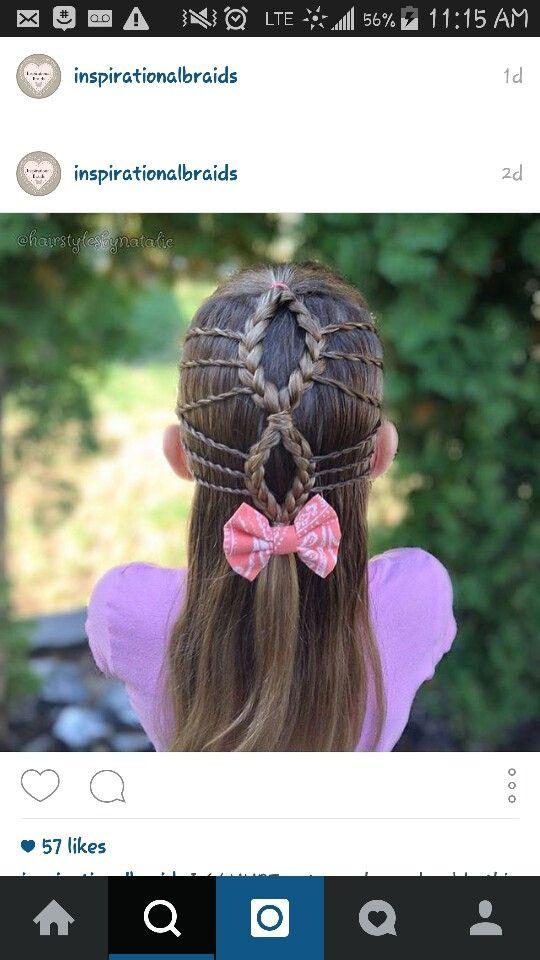 Twisted waterfalls to 3st braids.